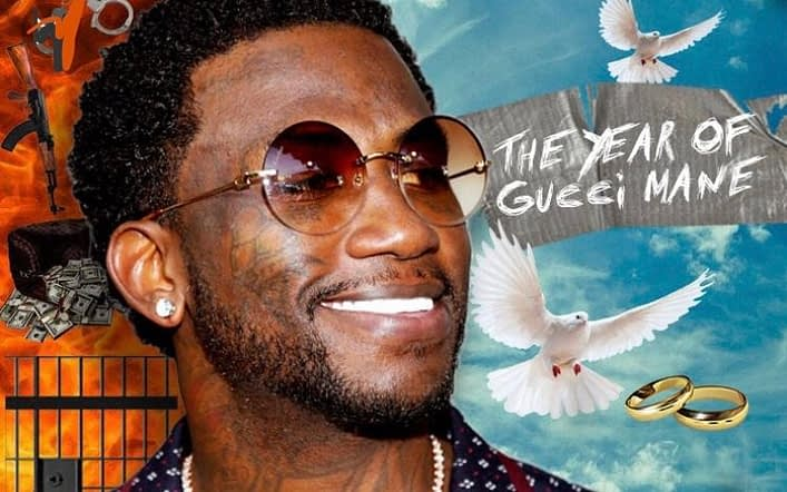 Gucci Mane Releases Anticipated 'Evil Genius' New Album with 21 Savage, Migos and Lil Yachty: Listening Party Underway
