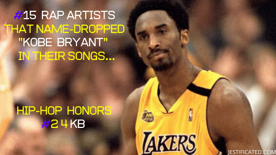 "KOBE BRYANT's Impact & Influence on Hip-Hop | #15 RAP Artist's That ""Name-Dropped"" KOBE In Their Songs 