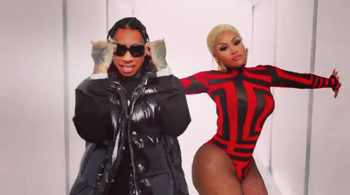 """Nicki & Tyga drop some New-Heat called """"DIP"""" Could this be a Clapback?"""